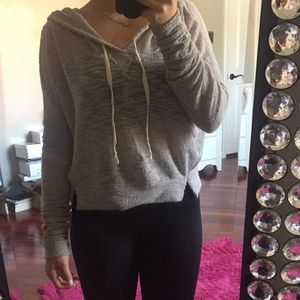 Hollister See Through pull over
